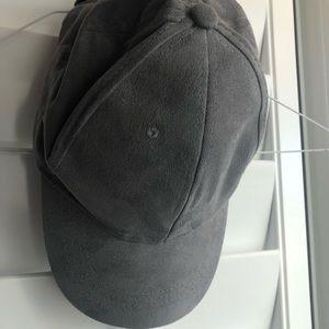 Accessories - Suede Grey Hat